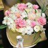 boite de fleurs séchées