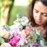 bouquet surprise avec fleurs de saison